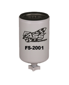 "FS-2001 - Titanium FASS Filter - ""RED"" or ""BLUE"" Base / 3/4 Thread"