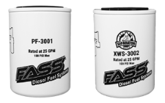 TITANIUM - KIT - Water Separator / Fuel Filter - PF-3001 and XWS-3002