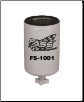 "FS-1001 - Titanium FASS Filter -  ""BLACK""  Pump Base ( 1 Inch Thread )"