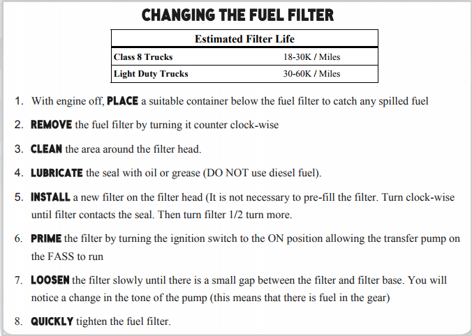 7 3 Fuel Filter Change  Wiring Schema  Wiring Diagram Schematics